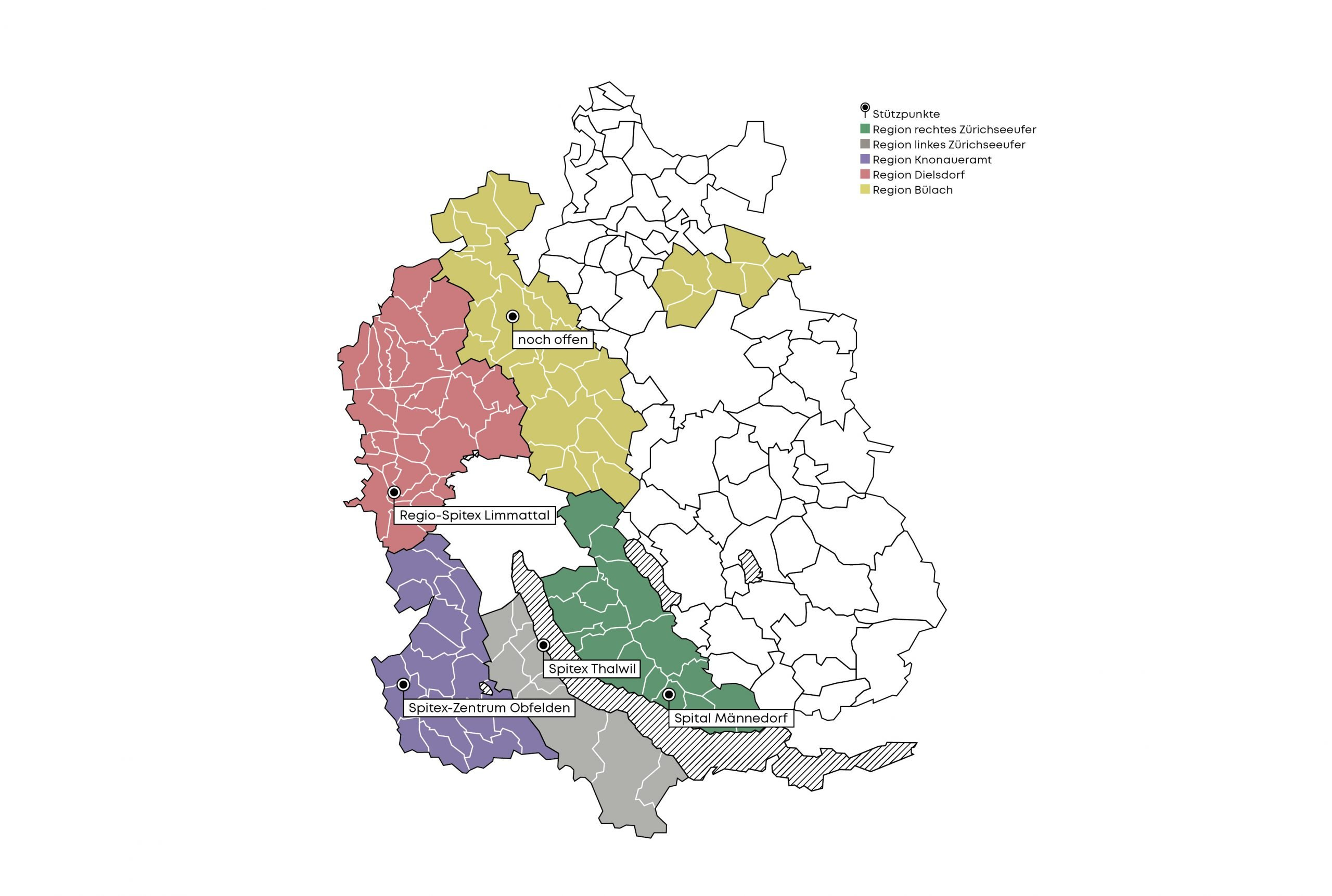 Palliaviva-Regionen